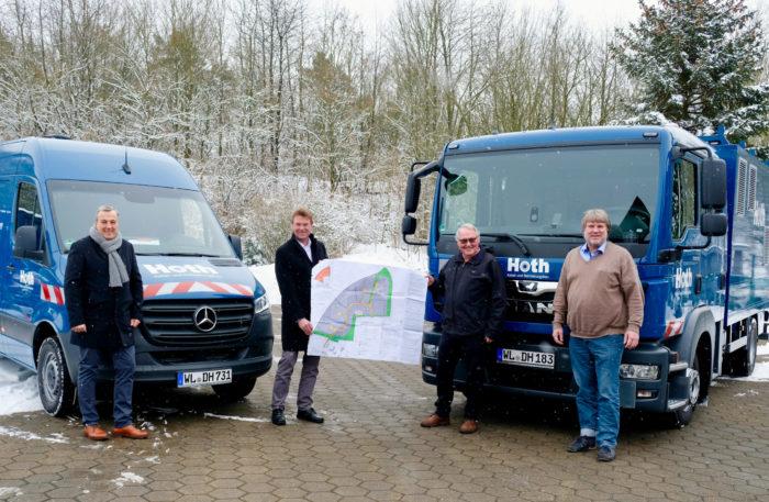 Hoth Tiefbau GmbH & Co. KG baut neue Unternehmenszentrale im TIP Innovationspark Nordheide
