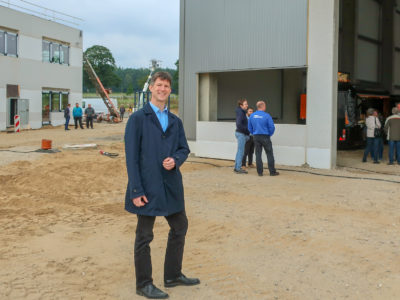 Mayr & Wilhelm GmbH & Co. KG feiert Richtfest im TIP Innovationspark Nordheide